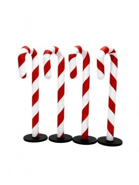 how to make giant candy cane props