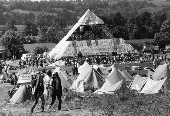 Firebird: Festival Fever: Vintage Festivals // Glastonbury