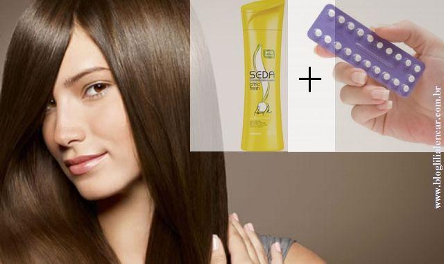Anticoncepcional no Shampoo pra Fazer Cabelo Crescer