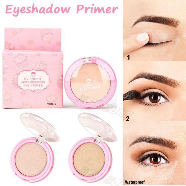 Minerale oogschaduw primer ogen voor base shadow prep primer higlighter 24 uur breiden ogen make lange slijtage smudge proof