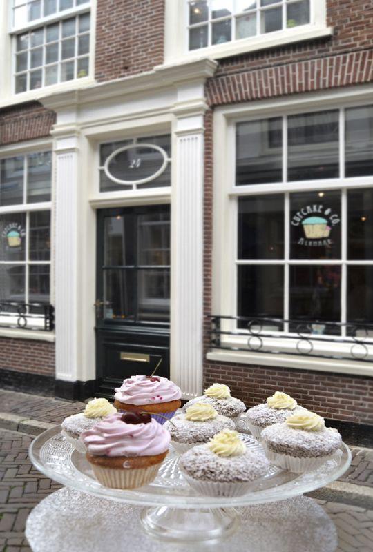 Cupcake & Co., winkel voor cupcakes en benodigdheden maar ook voor high tea en workshops