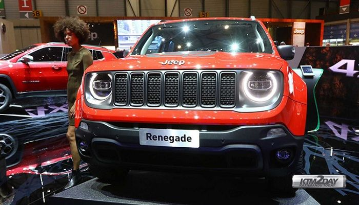 Jeep Preps Plug In Hybrid Versions Of Its Compass And Renegade