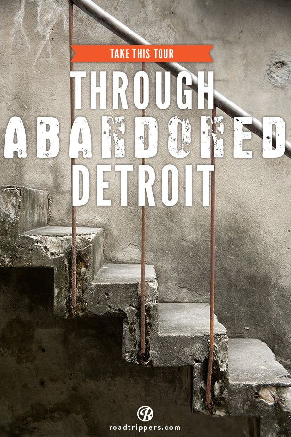Tour guide Jesse Welter, a 42 year old Detroit native, specializes in a different kind of tour. He takes people from out of town and shows them not just the decaying architecture of the city.. but he takes them inside it.