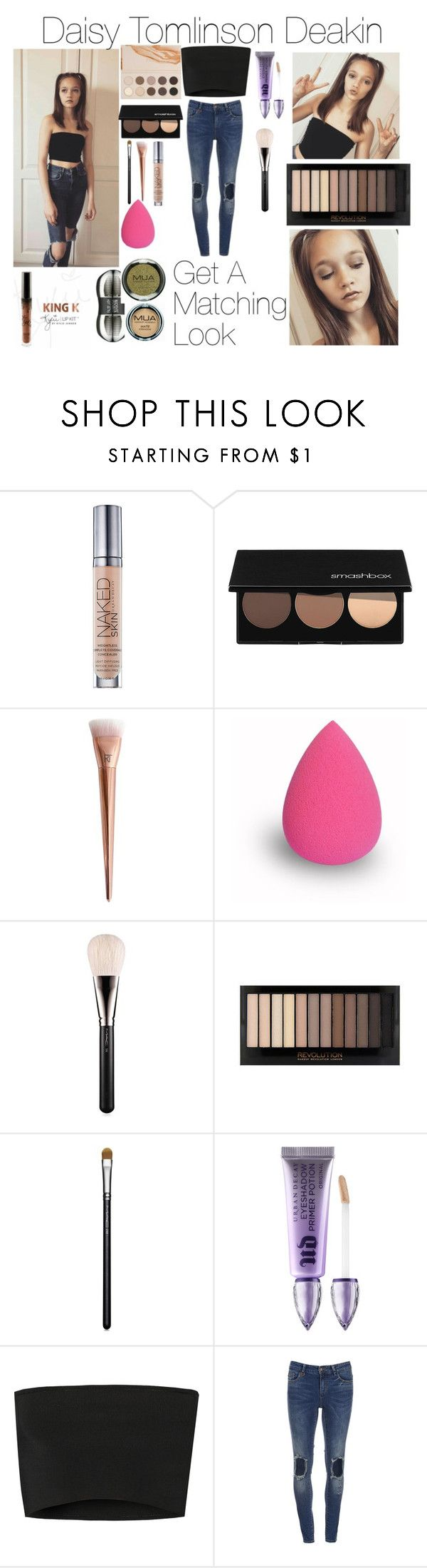 """Daisy Tomlinson Deakin"" by hawraasaeed ❤ liked on Polyvore featuring beauty, Urban Decay, Smashbox, MAC Cosmetics and Calvin Klein Collection"