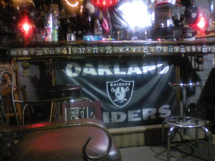 9 Best Bars Images On Pinterest Oakland Raiders Raiders