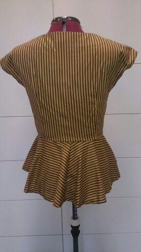 Simplicity 1590, 1940 blouse