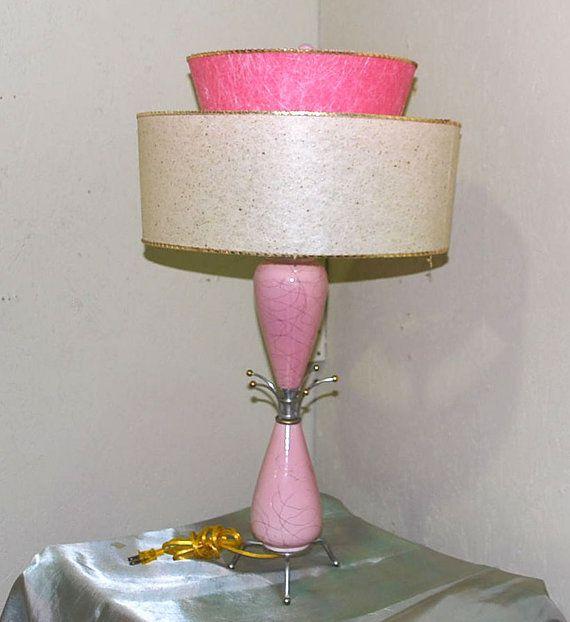 1955 Pink Ceramic Sputnik