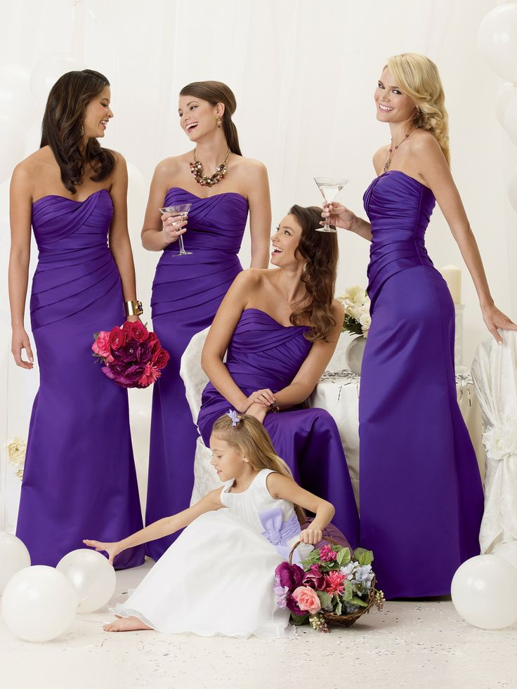 68 best Bridesmaid dress images on Pinterest | Wedding frocks ...