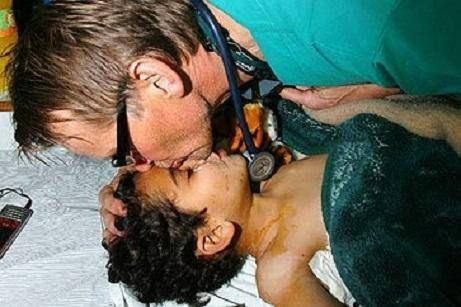 Doctor Mads Gilbert, is a Norwegian doctor and a solidarity worker. He is a specialist in anesthesiology and a leader of the emergency medicine department of University Hospital of North Norway. Whenever he learns of a new Israeli offensive on the Gaza strip, he drops his work and family life in Norway and goes straight to Gaza. May Allah guide him to Islam. Ameen