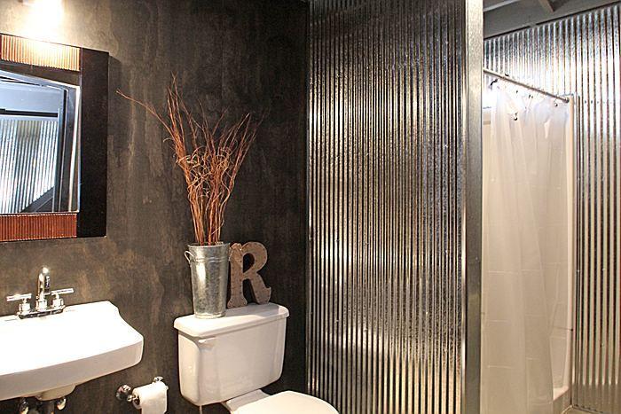 Best 25 corrugated metal walls ideas on pinterest - Using corrugated metal for interior walls ...