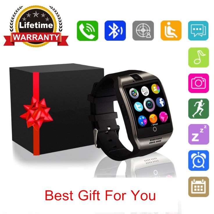 Q18 Smart Watch With Camera, Bluetooth Smartwatch Waterproof Cell Phone Watch Smart Wrist Watch With SIM Card For Android Phones. Yesterday's price: US $17.99 (14.97 EUR). Today's price: US $14.57 (12.05 EUR). Discount: 19%.