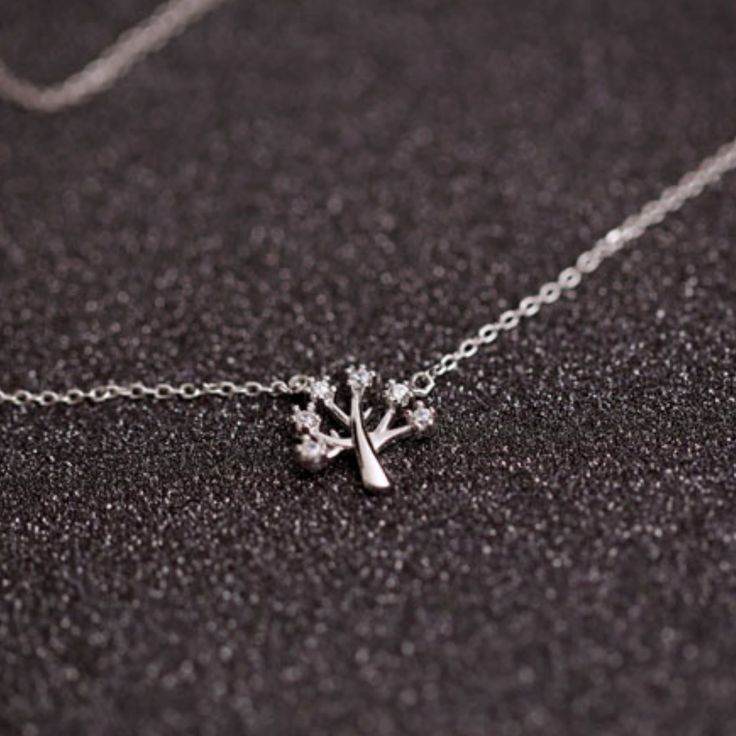 Wish Tree Necklace - 925 Sterling Silver