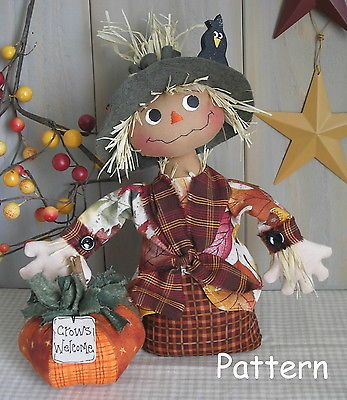 Scarecrow Sewing Pattern Image collections - origami instructions ...