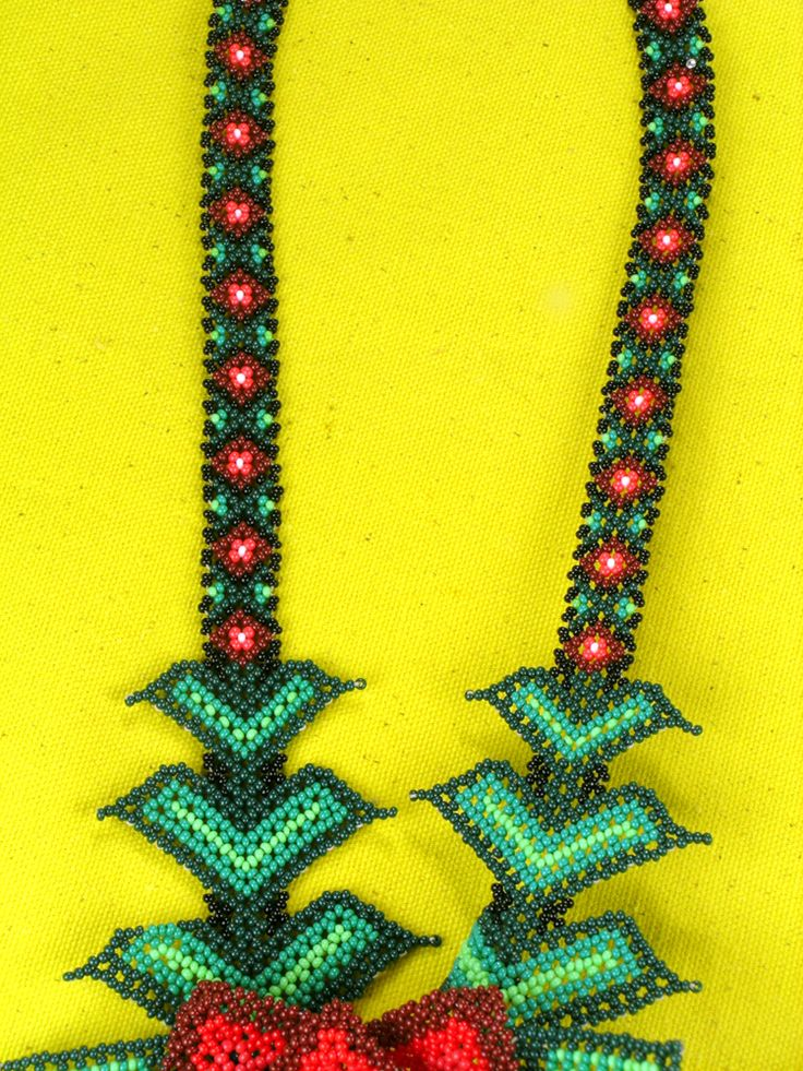 Huichol Beaded Necklace | patti haskins