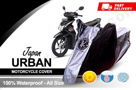 [Discount 46%] Lindungi motor anda dari panas matahari dan hujan dengan Selimut Motor Urban Japan Motorcycle Cover waterproof http://www.groupbeli.com/view.php?id=822