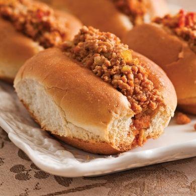 Ces petits pains à la viande accompagnent à merveille les potages et les salades de pâtes!