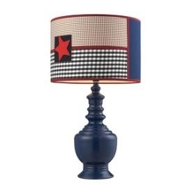 Patriotic One Light Table Lamp Kidsdecor Lighting