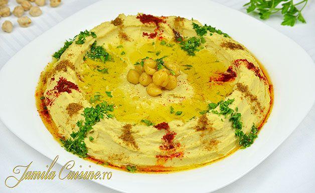 Hummus libanez reteta video - JamilaCuisine