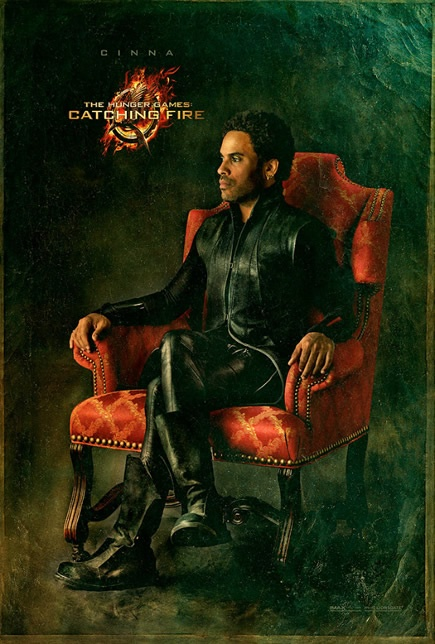 The Hunger Games: Catching Fire, Victory Portrait For Jennifer Lawrence, Woody Harrelson  Lenny Kravitz