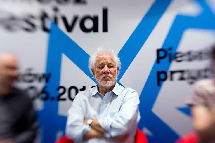 Miłosz Festival 2016, Spotkanie autorskie z Michael Ondaatje Fot. Tomasz Wiech