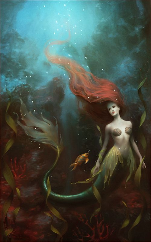MELANIE DELON STORE - Little mermaid