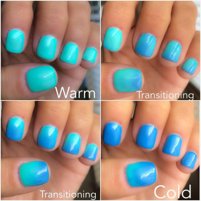 Lechat Perfect Match Mood Color Changing Gel Polish Skies The Limit