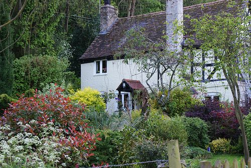 Cottage by the River Severn, Bewdley, Worcestershire