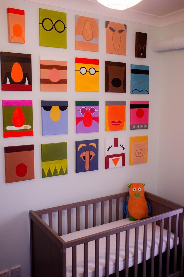 Elmo Bedroom Decorating Ideas: Awesome! Minimalist Muppets