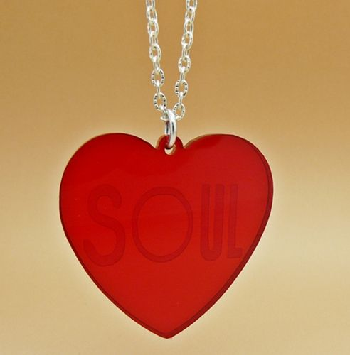 Product description for Heart and Soul Charm Necklace