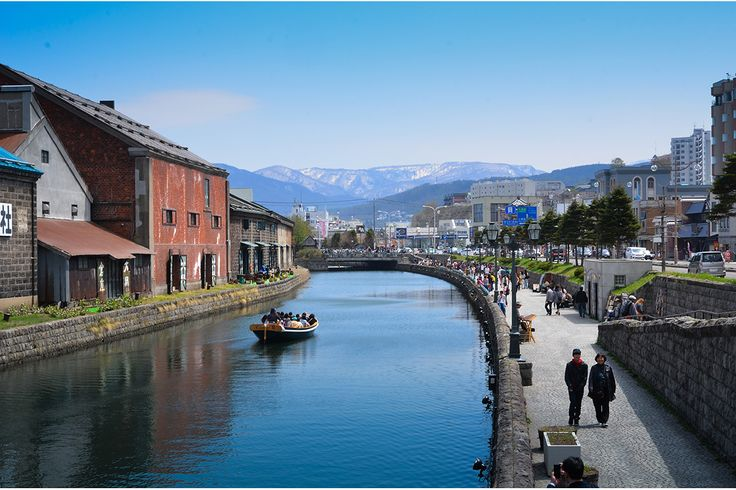 Otaru lies to the northeast of Sapporo, and in the winter is on the train route to the ski resort of Niseko. In spring or summer, though, it's a major domestic tourism destination. I visited overnight in May2014.  To get to Otaru, take a futsuu train from Sapporo's JR station – it&#0