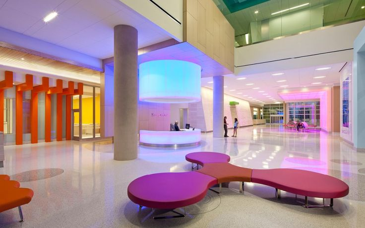 Nemours Children's Hospital Sensory integration throughout the entire facility.   Photo by Stanley Bearman and Sears, Inc that has a full slide show on their site. Pinned by @Gail Zahtz