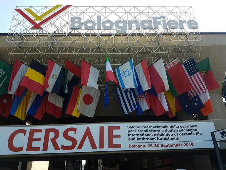 Our team has arrived at Cersaie!