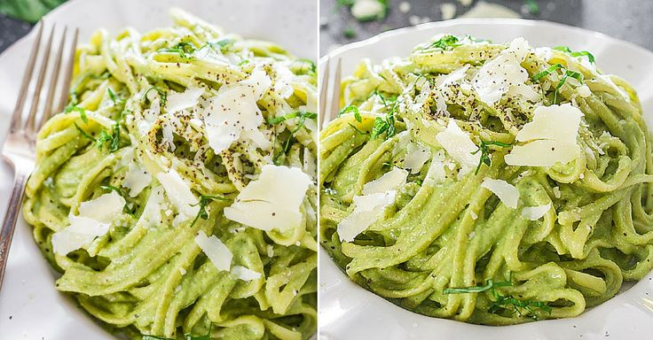 Expresní večeře: Těstoviny s avokádovou omáčkou | Čarujeme