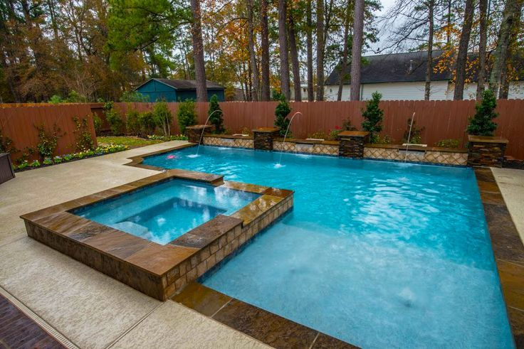 1464 Best Images About Awesome Inground Pool Designs On