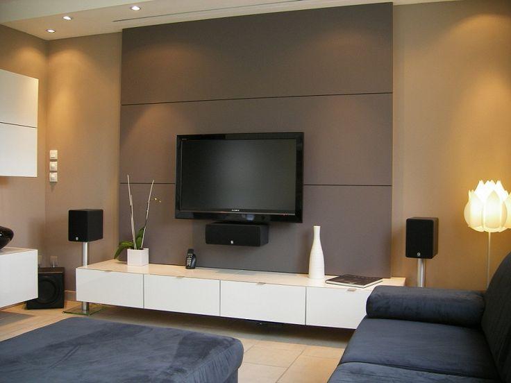support tv mural placo beautiful accrocher tv mur idaces de dacco pour accrocher des photos au. Black Bedroom Furniture Sets. Home Design Ideas