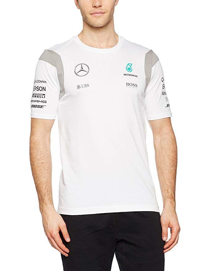 Mercedes AMG PETRONAS Team F1 Polo Poloshirt Herren Shirt Formel 1 Gr S