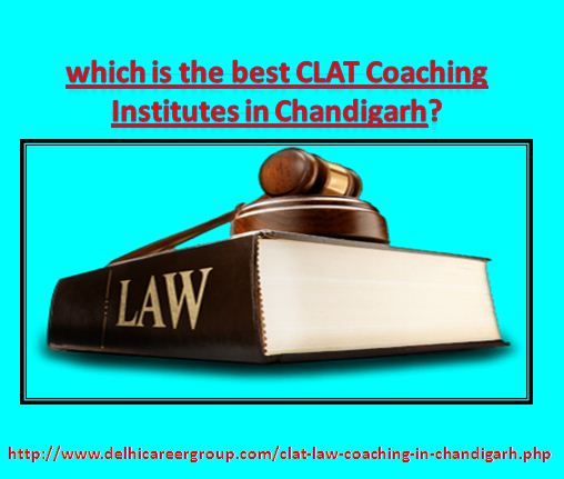 Delhi Career Group is the best CLAT coaching institute in Chandigarh. This institute prepares students for CLAT(Common Law Admission Test), LLB and other law related exams. Contact Us for Admission here: 8427287963.