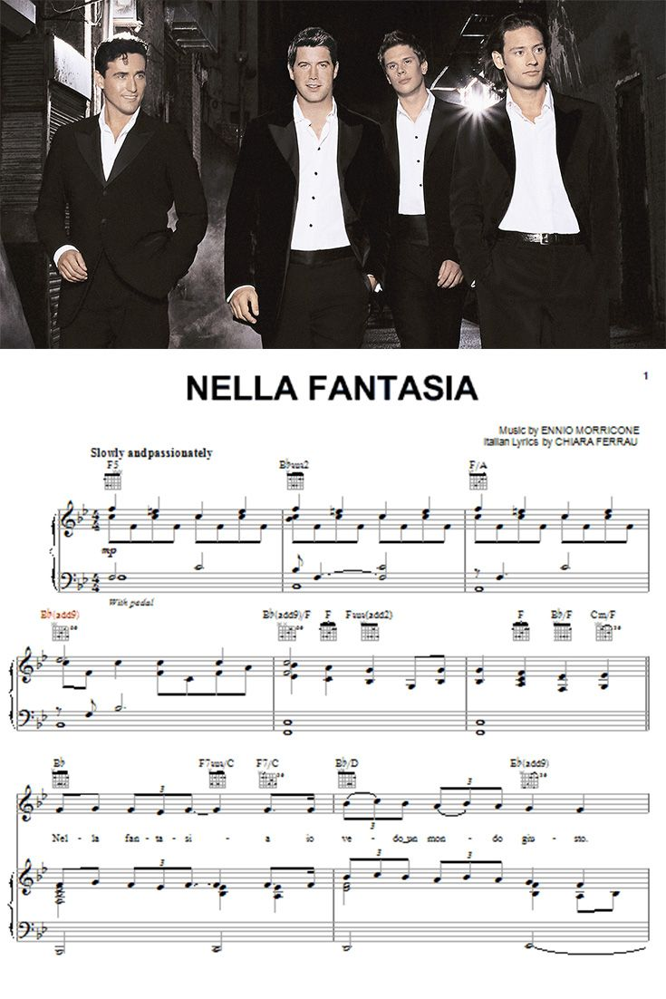 225 best images about digital sheet music on pinterest piano sheet music sheet music and max - Il divo nella fantasia ...
