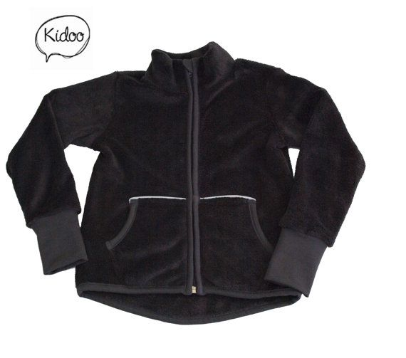 Comfy and stylish full zip fleece jacket your kids by Kidookids