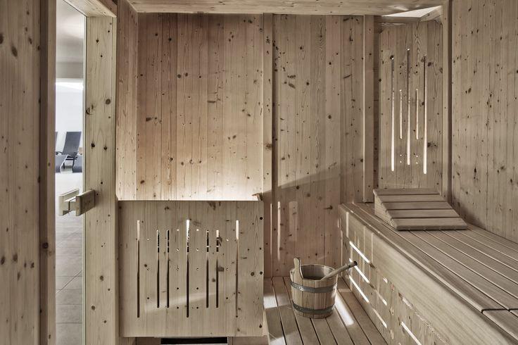 Finnische Sauna im arx Hotel // Finnish sauna in the arx Hotel