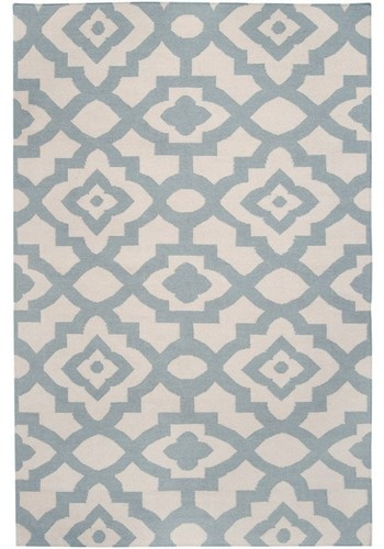 Candice Olsen Market Place Geometric Parchment Hand Woven Wool Rug