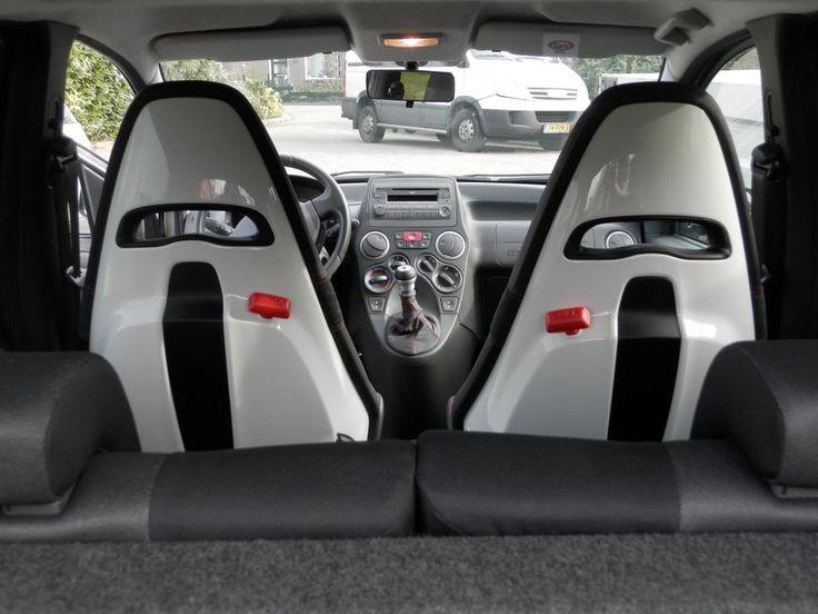 Abarth 500 Sabelt seats Panda 100HP | Abarth & Panda 100 ...