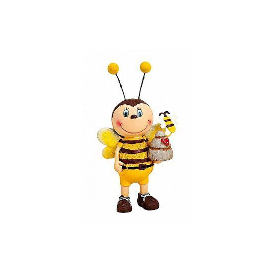 Decoratief bijen mannen beeldje 12 cm  Vrolijk Bijen beeldje. Dit decoratieve beeldje van een mannetjes Bij houdt een honingpot vast. Formaat: ongeveer 6 x 5 x 12 cm. Het beeldje is gemaakt van polystone.  EUR 5.95  Meer informatie