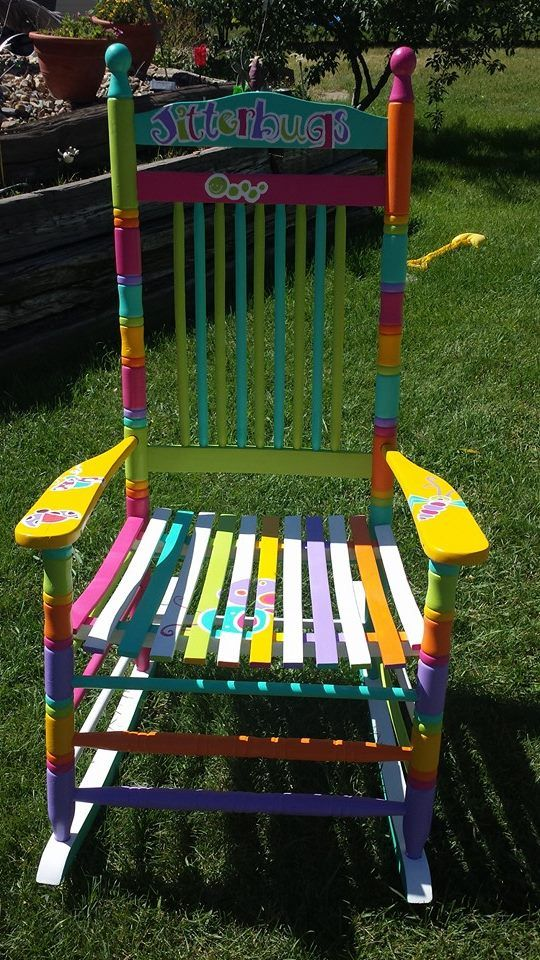 Teacher's rocking chair for Jitterbugs Daycare and Preschool in Sidney MT