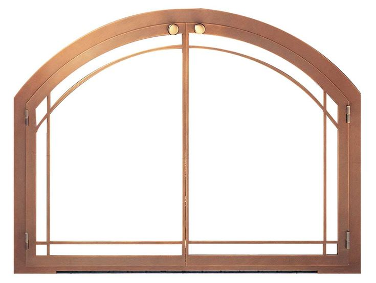 Looking for a detailed, precision-cut curvature fireplace frame? If so, the Design Specialties legend arch masonry fireplace door is the right fit for you!