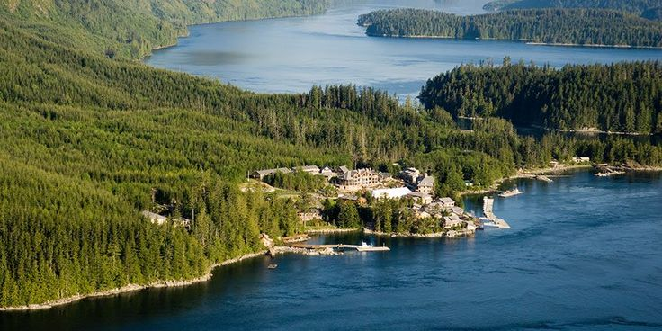 Sonora Resort in outback British Columbia