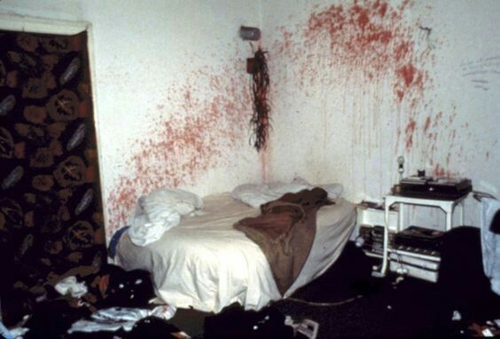 Richard Ramirez Crime Scene  #nightstalker