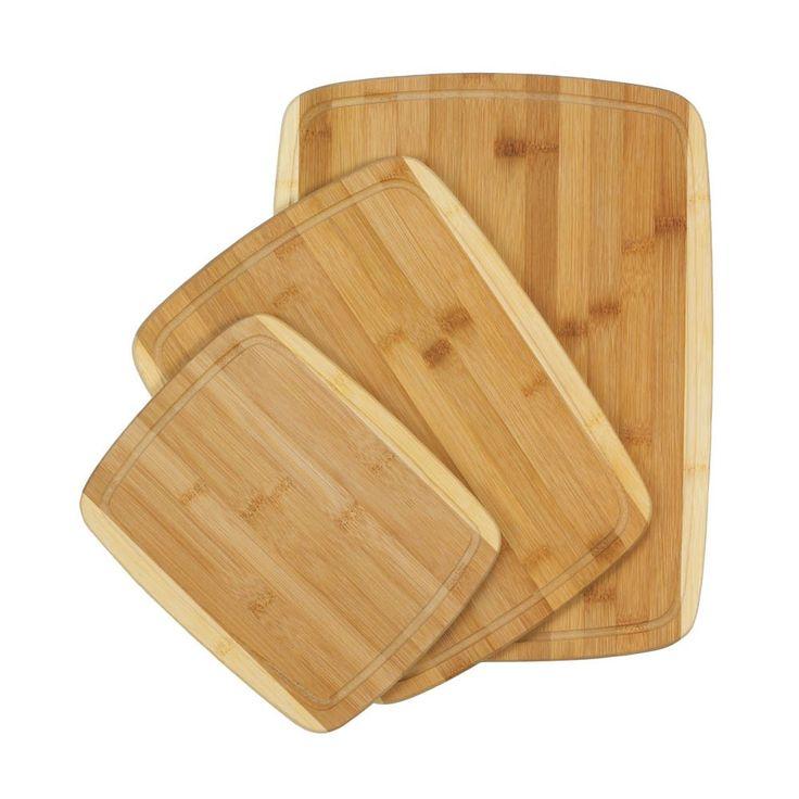 Bamboo Cutting Boards Trio