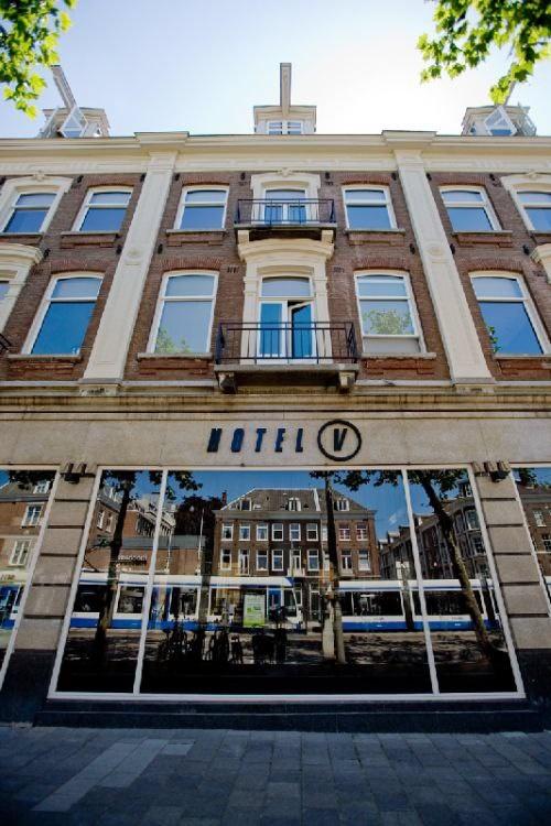 Hotel V Frederiksplein - Amsterdam, The Netherlands - 48 Rooms - Auping Beds