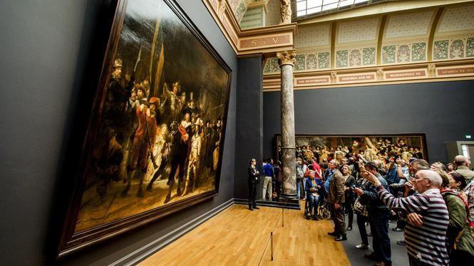 Amsterdam - Rembrandt 'Night Watch'